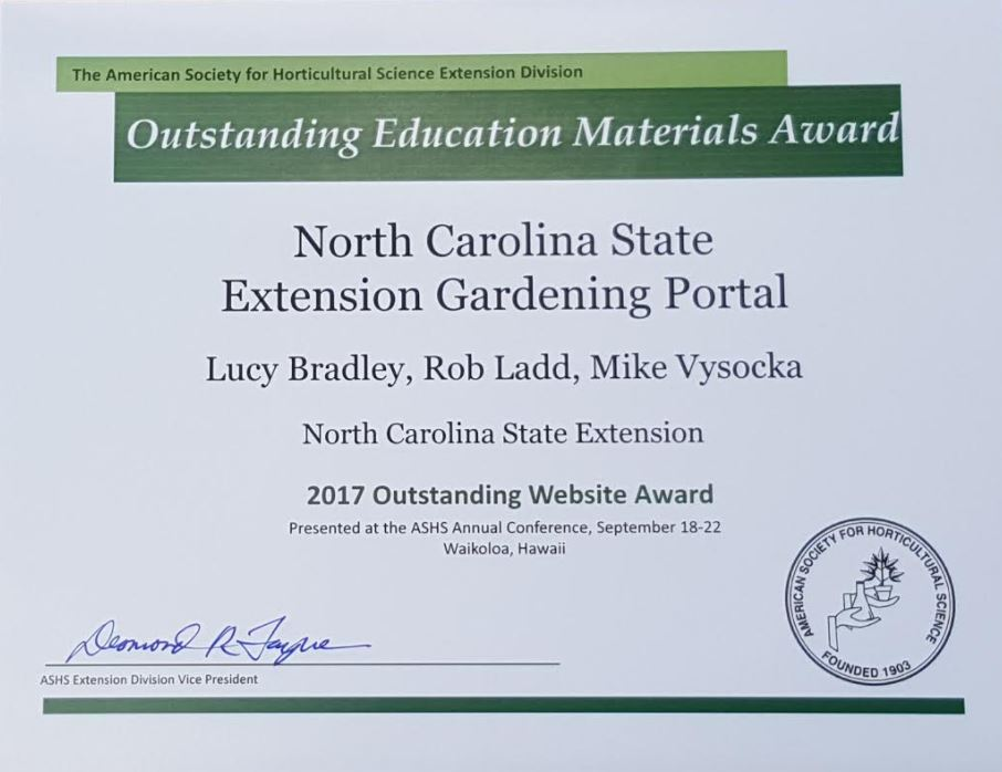 Gardening   NC State Extension