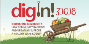 Dig in event banner