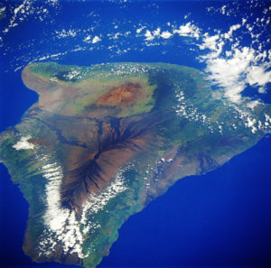 Satellite view of Hawai'I