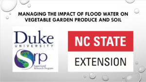 Title slide w/ Duke and NC State Extension logos