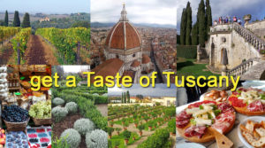 Collage of Photos of Tuscany