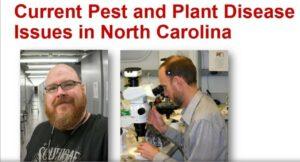 Current Pests and Pathogen
