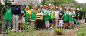 Group of Master Gardener volunteers