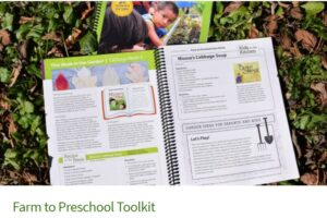 Farm to preschool toolkit - open book